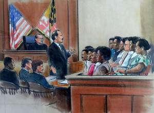 Court drawings - Sasscer, Clagett & Bucher