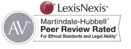 LexisNexis Martindale-Hubbell Peer Review Rated Logo